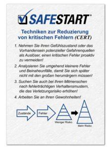 SafeStart Techniken zur Reduzierung von kritischen Fehlern (CERT): Das Self-Triggering ist die erste Technik zur Fehlervermeidung.